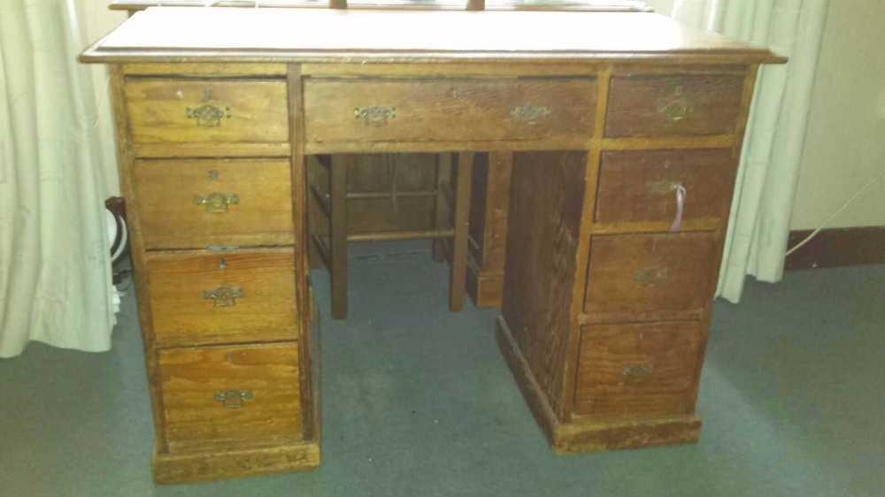 Antique Wooden Desk in london