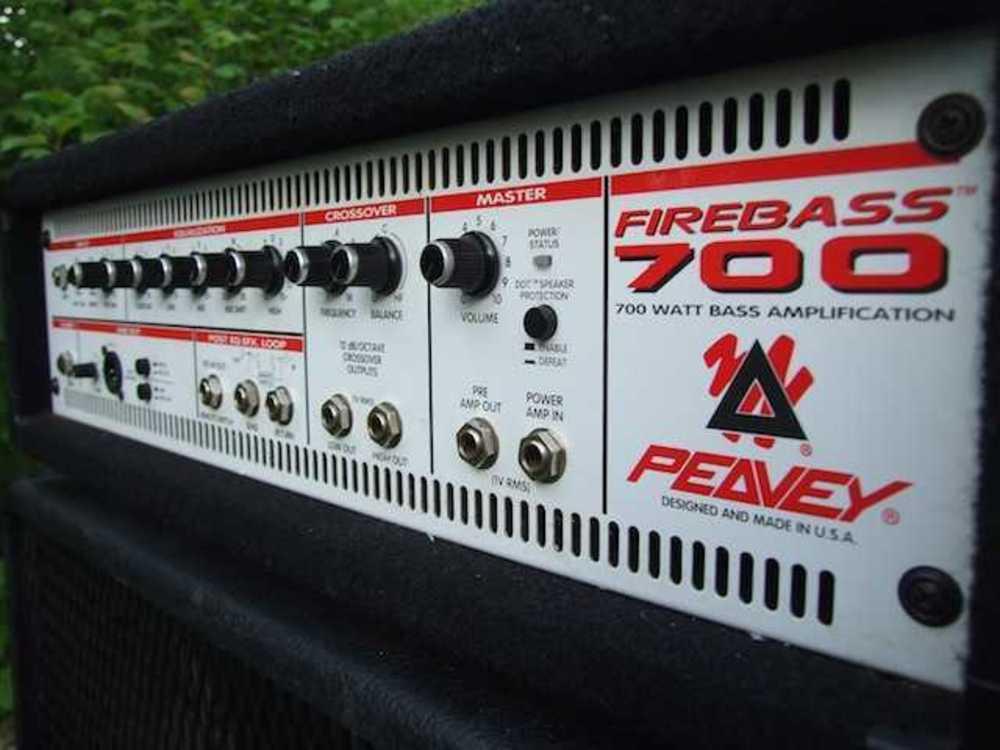 Bass Amp Head - Peavey Firebass 700 in london