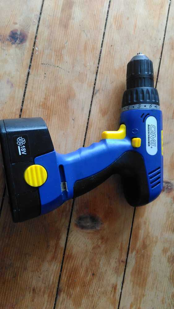 Battery operated drill & screwdriver in london