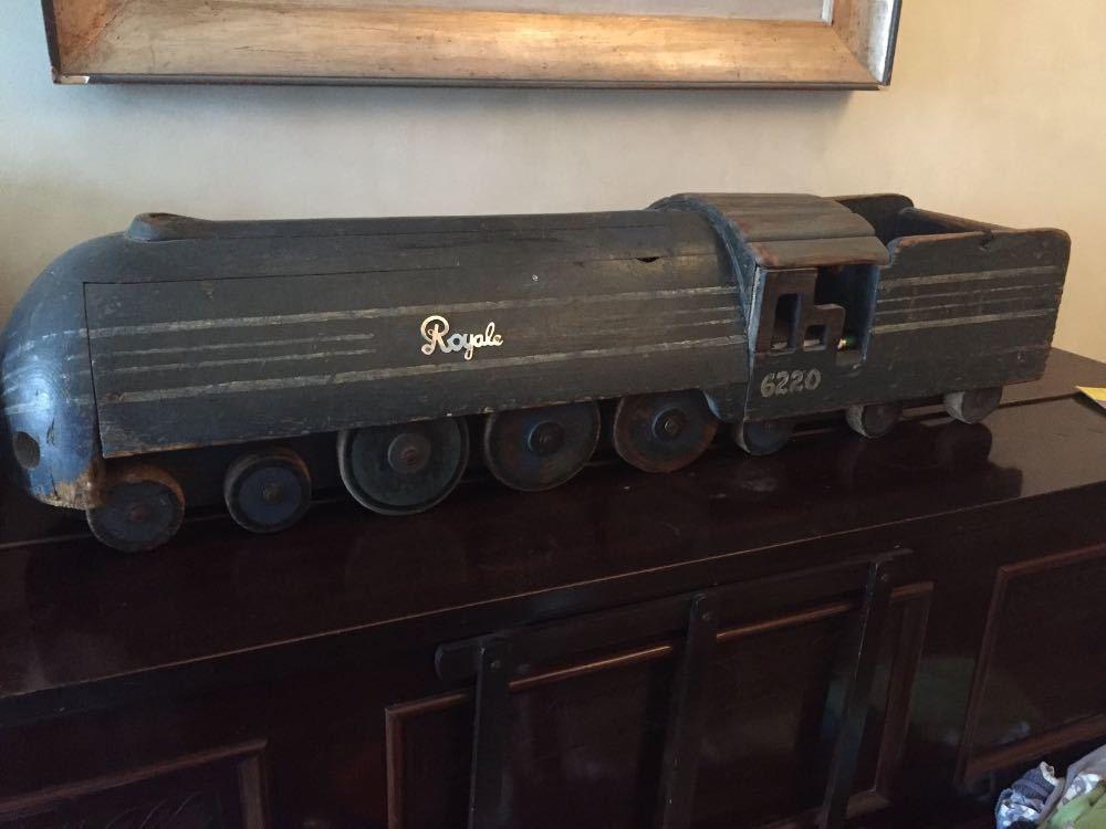 Beautiful old train  in london