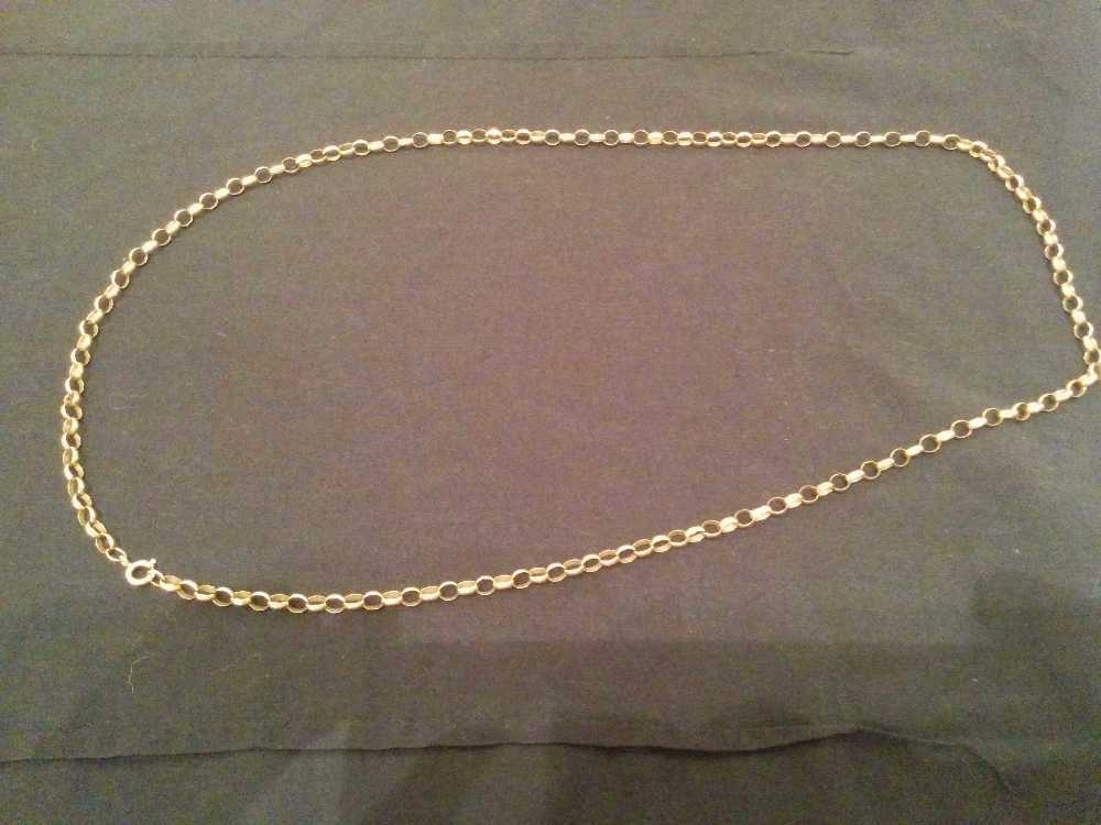 Belcher necklace 9CT 14.17G in london