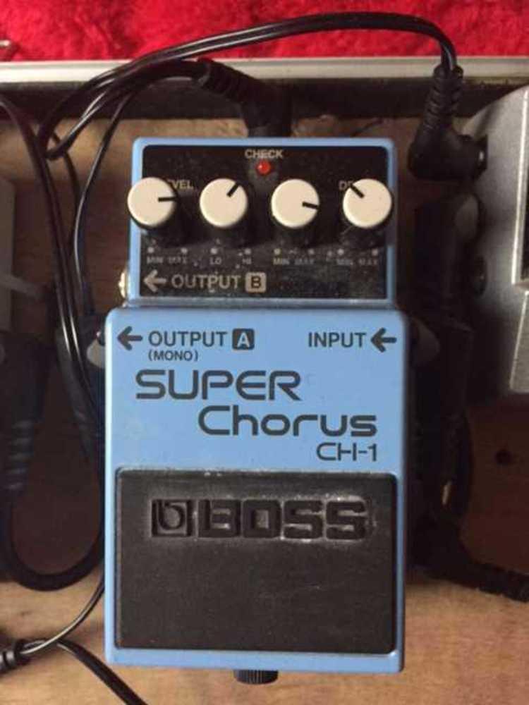 Boss Super Chorus CH-1 in london