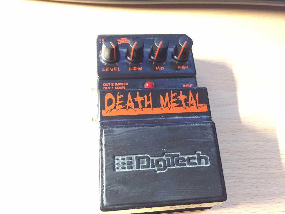 Digitech Death Metal in london