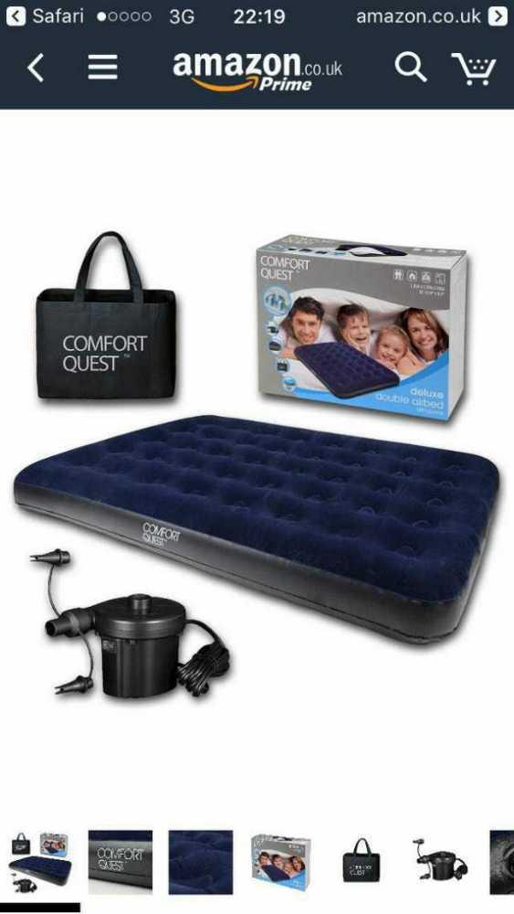 Double airbed in london