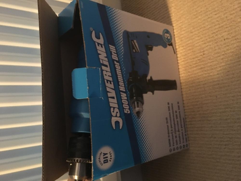 Drill - Silverline 500w in london
