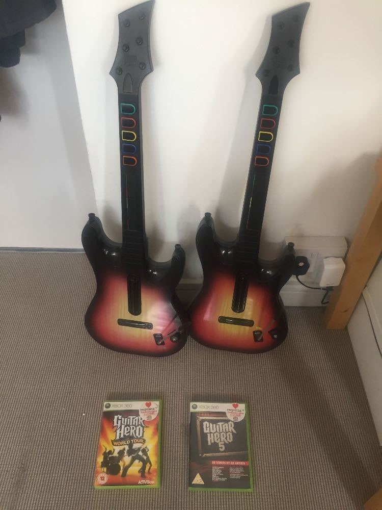 Guitars for XBOX 360 and games in london