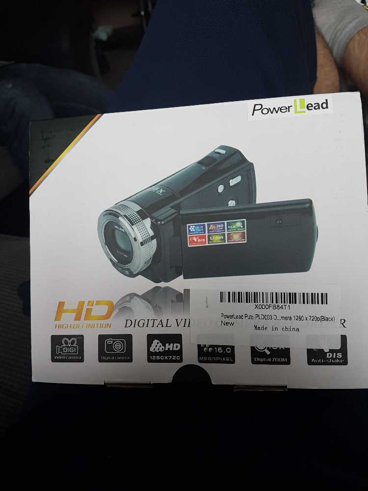 HE CAMCORDER in london