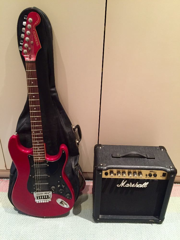 Hohner Guitar and Marshall amp package in london