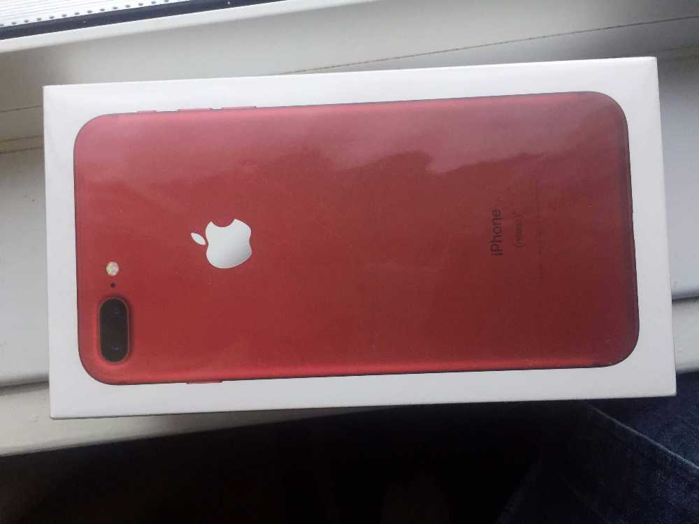 iPhone 7 Plus - Special Edition Red 256g in london