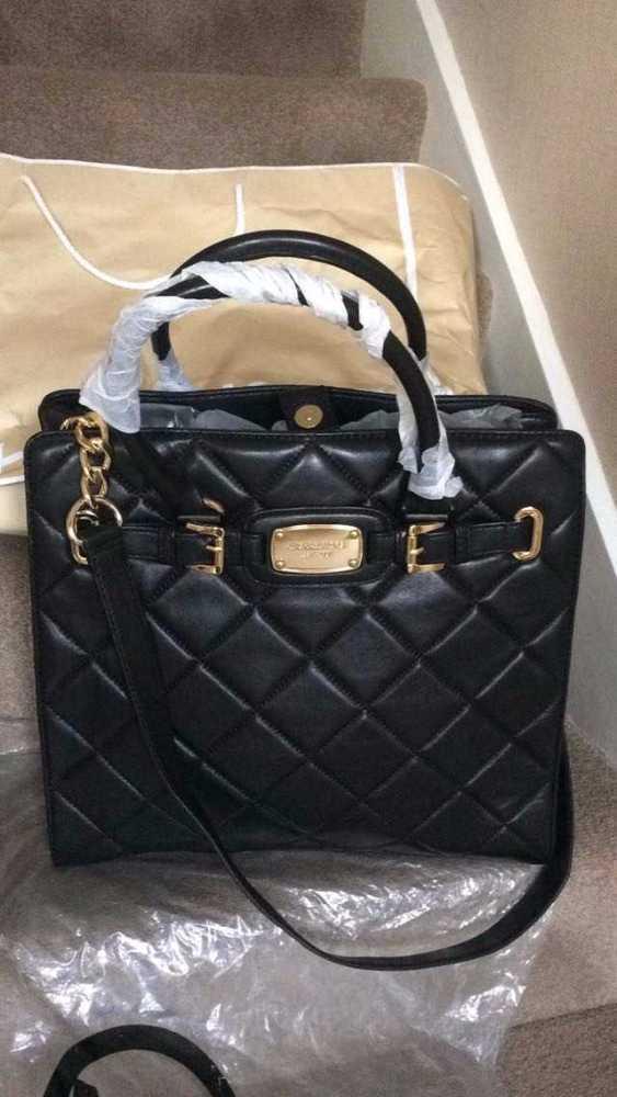 MK Black New Quilted Ladies Bag in london