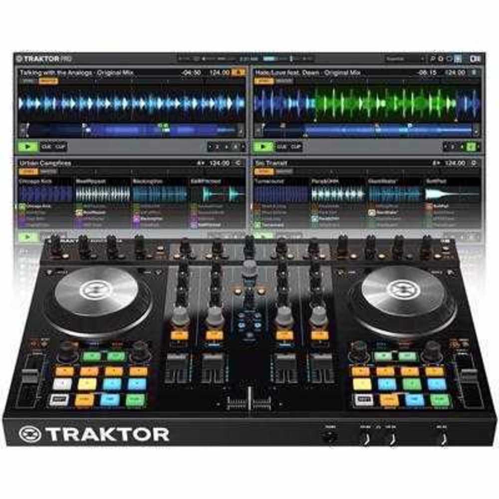Native Instruments Traktor Kontrol S4 MKII Controller - MP3 Mixer in london