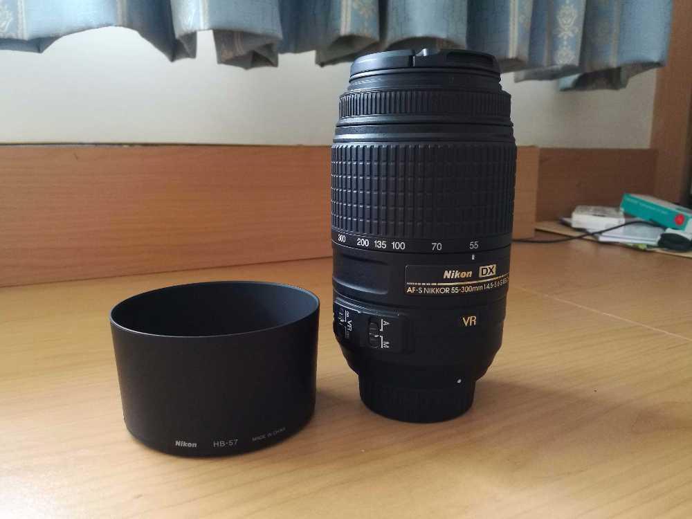 Nikon 55-300mm f/4.5-5.6G VR LENS in london