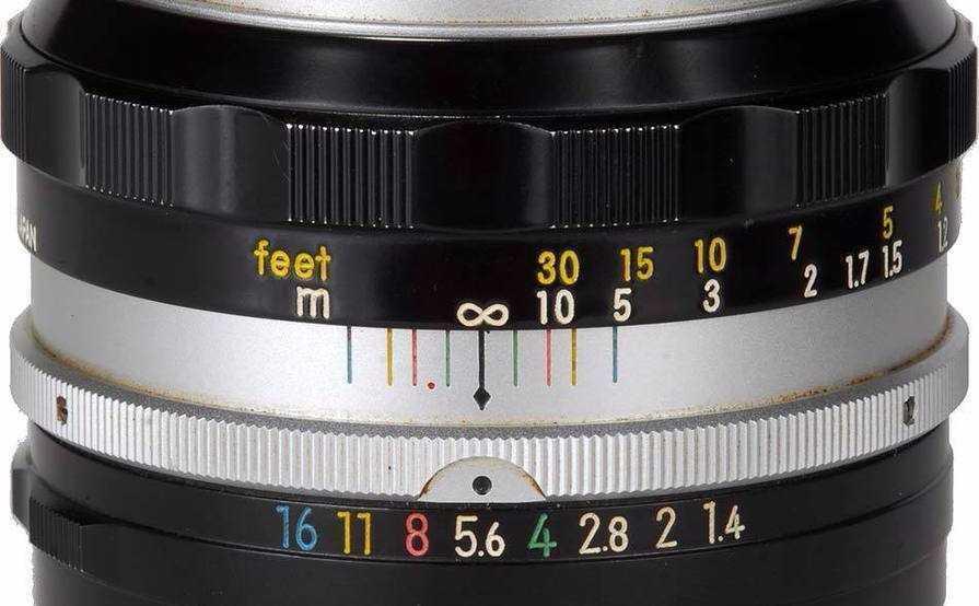 Nikon Nikkor 50mm f1.4 in london