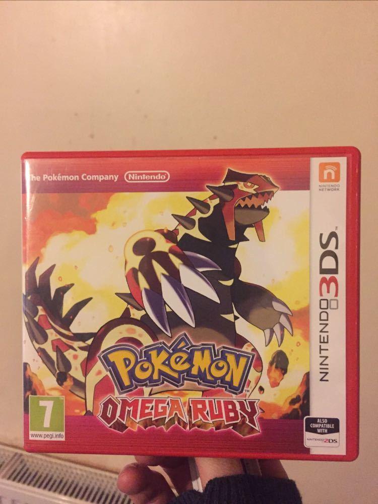 Pokemon omega ruby in london