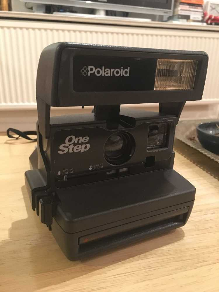 Polaroid 600 One Stop Camera in london