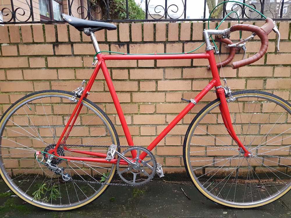 Restored emmelle road bike in london