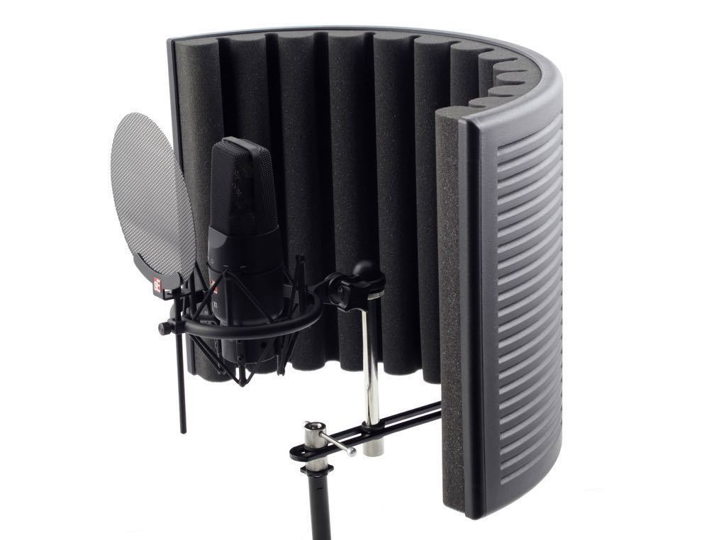 Sound proof Mic reflection shield  in london