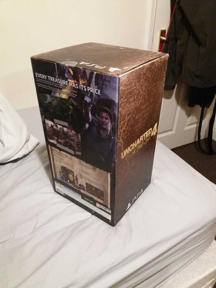 Uncharted 4 collectors edition ps4 in london