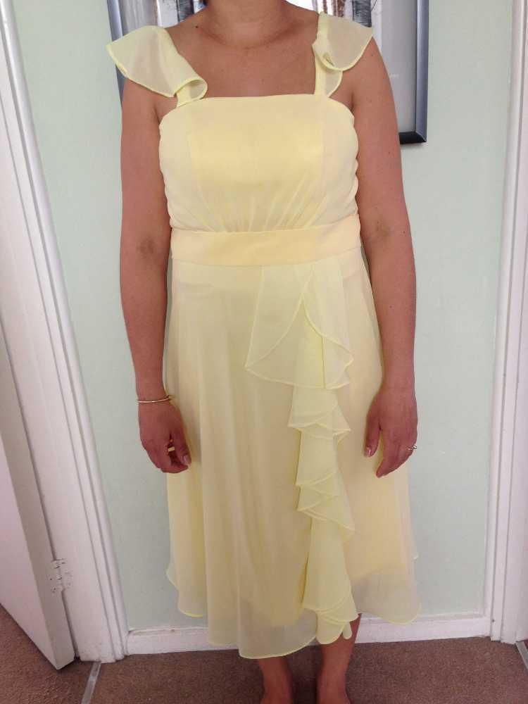 Yellow Maternity Dress in london