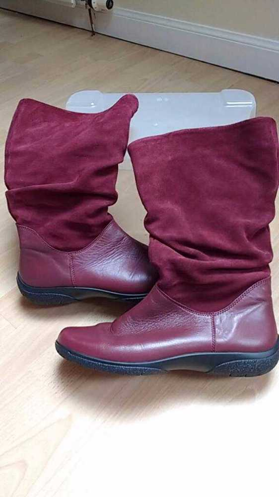 maroon red-leather-boots--82077066.jpg