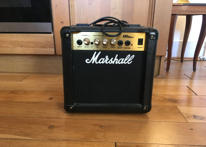 rent marshall mg10 practice amplifier fat lama. Black Bedroom Furniture Sets. Home Design Ideas