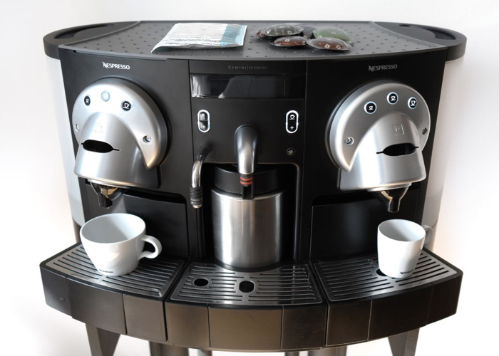 rent nespresso professional coffee machine cs220 capsule. Black Bedroom Furniture Sets. Home Design Ideas