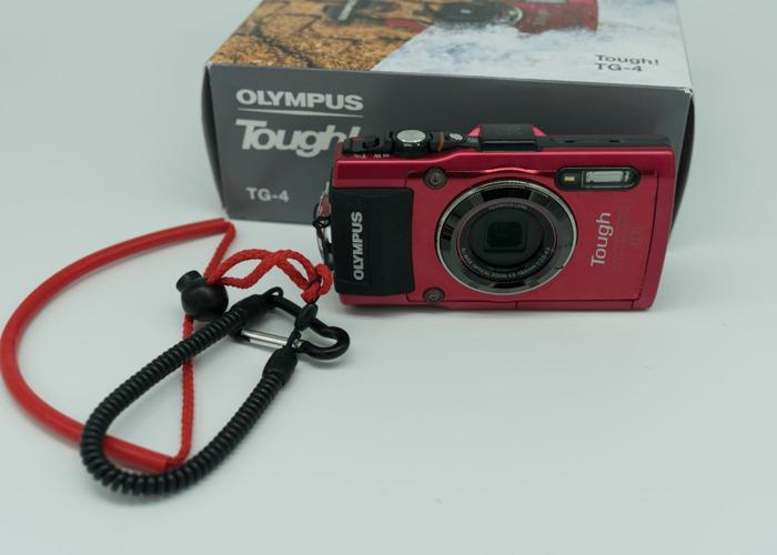 how to use olympus tough tg4