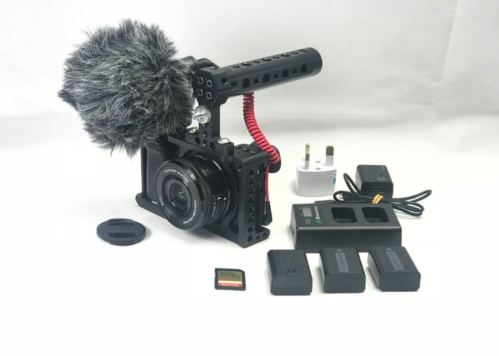 sony a6300-1650-len-4k-video-hd-cage-rode-mic-kit-47398709.JPG