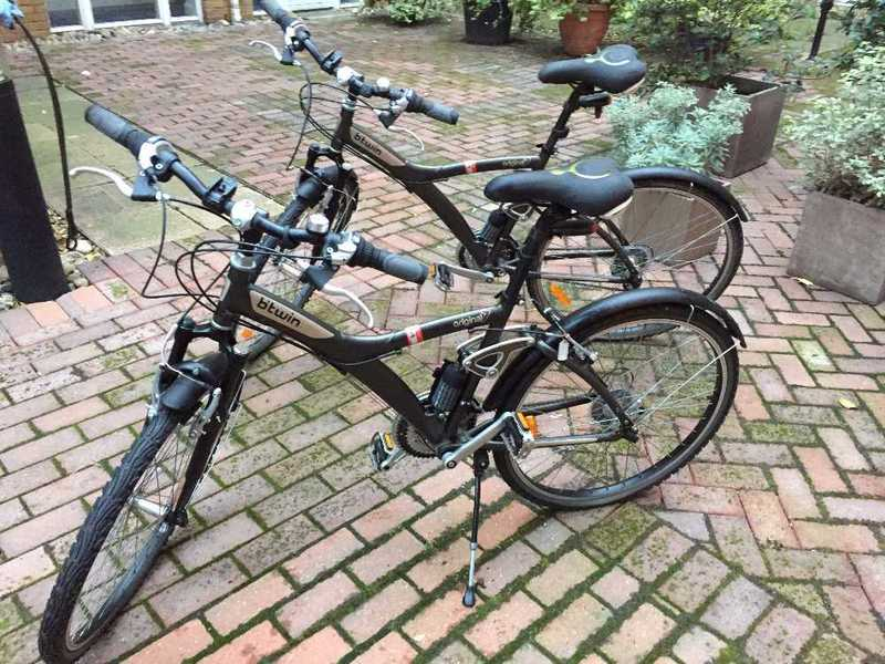 two btwin-original-7-bicycles-one-large-one-medium-low-mileage-next-to-new-condition-includes-all-accessories-85402882.jpg